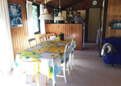 Stuen og køkkenet